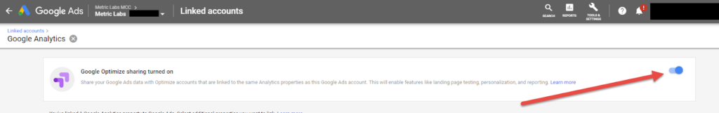 google_optime_adwords_linking