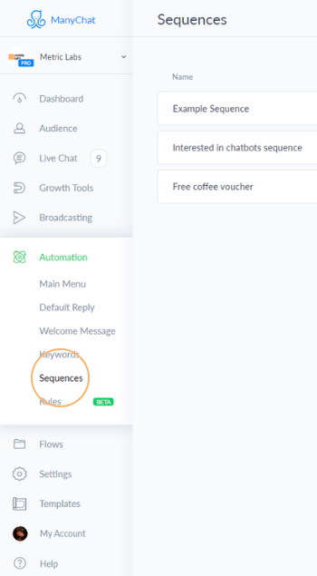 manychat_sequences_console_snippet