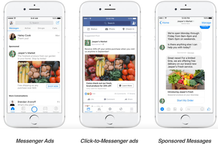 types_of_messenger_ads_on_mobile_screens